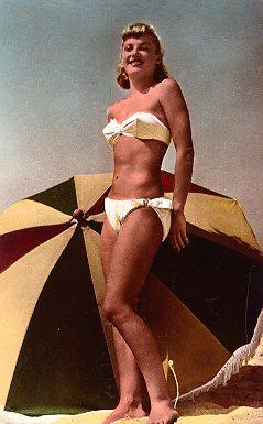 Bikini postcard