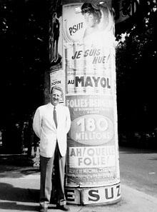David in France, 1956