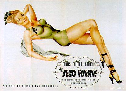 Mapy Cort�s in El Sexo Fuerto, 1945